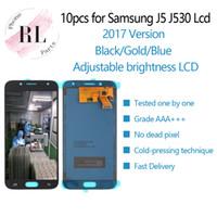 ingrosso s3 pro-10 PZ per display LCD luminosità regolabile Samsung Galaxy J5 2017 J530 SM-J530F Schermo LCD Touch Screen Digitizer per J5 Pro Spedizione Gratuita