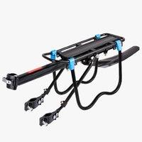 bicicleta traseira da bagageira venda por atacado-Bicicleta montanhosa rack traseiro rápida desmontagem bicicleta rack traseiro tripulado bagagem cauda equitação equipamentos acessórios