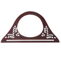 рама для мешков оптовых-Wood Handle Purse Frame Wooden Bag Handle DIY Handbag Accessories