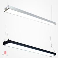 12v led-beleuchtung kommerziellen großhandel-Kommerzielle LED-Hängende Lichter Aluminium Connective Office Hängende Beleuchtung lange Acrylhelligkeitsprojekt-Markt-Markt-Befestigungs-Dynastie-Licht