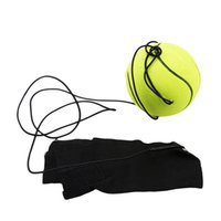Wholesale bouncy toys for kids resale online - Kids Toys Bouncy Finger Band Ball Elastic Rubber Ball For Wrist Exercise Hand Finger Stiffness Relief Wrist Bounce Ball