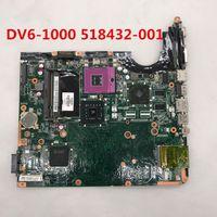 dv6 intel großhandel-Hohe Qualität Für DV6 DV6-1000 DV6T Laptop Motherboard 518432-001 Intel P45 DDR3 100% voll Getestet