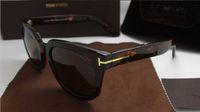 Wholesale microfiber for sunglasses resale online - luxury top qualtiy New Fashion Tom Sunglasses For Man Woman Erika Eyewear ford Designer Brand Sun Glasses with original box