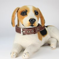 Wholesale d ring leather for sale - Group buy Dog Collars PU Leather Cat Dog Collar D Ring Safety Dog Necklace Doggie Leashes Accessories Supplies Colors Optional WZW YW3176