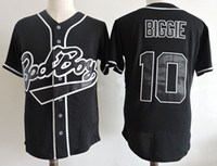 ingrosso notizie baby-Bad News Bears Gear Bo Jackson Memphis Chicks Jersey G baby Kekambas Shirt Mars 24K Hooligans Biggie Smalls Maglie da baseball