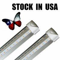 ingrosso illuminazione a congelatore principale-8ft luci a tubo a led V-Shape 8 piedi negozio di design LED luci apparecchio 2ft 3ft 4ft 5ft 6ft dispositivo di raffreddamento porta congelatore illuminazione lampade fluorescenti