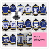 ingrosso youth hockey jersey-Personalizzato Men women youth 2019 Stanley Cup St Louis Blues Jersey bianco Schenn Alexander Steen Paul Stastny Pietrangelo Ryan O'Reilly Tarasenko