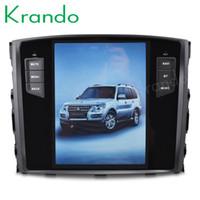 rádio automóvel mitsubishi outlander venda por atacado-Krando android 7.1 10.4