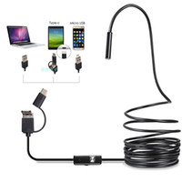 Wholesale camera pc portable for sale - Group buy ALK pc Portable in IP67 Waterproof mm Endoscope Camera Inspection Type C Mini Cameras Micro Camera For Android PC