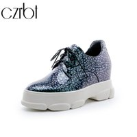fbda9f43dc10 Sexy2019 Czrbt Spring Hot Sale Ladies Pop Lace-up Flat Platform Shoes Noble  Non-slip Breathable Sweat Zapatos De Mujer