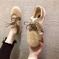 Wholesale lace female moccasins for sale - Group buy Cross Women s Shoes Slip on Casual Female Sneakers Modis Loafers Fur Round Toe Flats New Slip On Winter Dress Moccasin