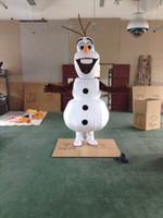 traje de sonrisa de adulto al por mayor-Adulto nuevo sonriente traje de la mascota muñeco de nieve ropa traje de personaje de dibujos animados