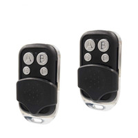 Wholesale garage remote control replacements resale online - Garage Door Openers Universal Remote Control MHZ Programmable Learning Replacement Key Fob Copying Common Fixed and Learning Code