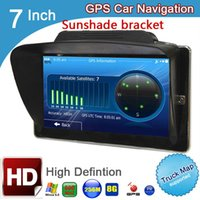 Wholesale car gps for sale - inch capacitive truck vehicle GPS navigation MTK MHz DDR3 M ROM G bluetooth avin MSB253 car gps navigator