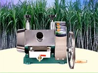 maquina de azucar al por mayor-Manual de alta calidad Modelo Sugar Cane Ginger Press Juicer Juice Machine Press
