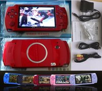 Wholesale free mp5 resale online - 4 Inch PMP Handheld Game Player MP3 MP4 MP5 Player Video FM Camera Portable GB Game Console
