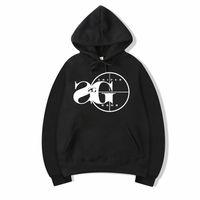 serin siyah sweatshirtler toptan satış-Vsenfo Sniper Gang Kapşonlu Sweatshirt Kodak Siyah RAP Hip Hop Unisex Hoodie Serin Sürüm Sokak Kazak Hoodies Erkek Kadın