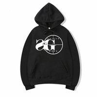 крутые черные кофты для мужчин оптовых-Vsenfo Sniper Gang толстовка с капюшоном Kodak черный рэп хип-хоп унисекс толстовка прохладная версия улица пуловер Толстовки Мужчины Женщины