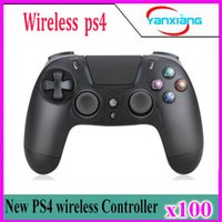 Wholesale 2018 HOT Sale Bluetooth Wireless PS4 Controller for PS4 Vibration Joystick Gamepad PS4 Game Controller ZY PS N5