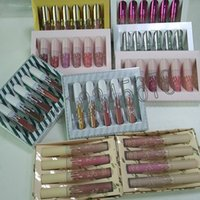 Wholesale kylie lipstick nude for sale - Group buy send me more nudes The kylie Birthday Collection I want it ALL Liquid lipstick matte velvet lipgloss set set DHL FREE
