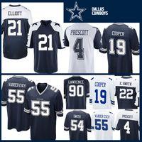5fef4d27 cowboys football jerseys 2019 - 21 Ezekiel Elliott 55 Leighton Vander Esch  Jersey Dallas Cowboys 4
