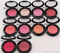 minéraliser le fard à joues achat en gros de-Maquillage visage blush haute qualité NOUVEAU Marque Mineralize Blush 4g ont Nom anglais Nom 10 couleurs