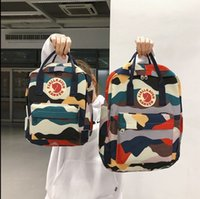 Wholesale yoga packaging for sale - Group buy Fashion Unisex Students Luxury Shoulders Bag Womens Brand Backpack Mens Shoulder Package Patterns Sizes Outdoor Oxford Fabric Q B105647Z