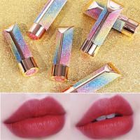 Wholesale Moist Lip Balm Waterproof moisturizing lipstick net red Fashion lipstick lasting moisturizing lipstick Current Fashion beauty makeup T9F0016