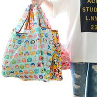 8d57766d5866 Cartoon Tsum Tsum Hello Kitty Folding Reusable Shopping Bag Foldable Nylon Grocery  Bags Large Tote Bag Eco Friendly Handbag