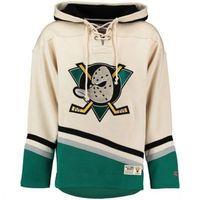 hoodies name großhandel-Anaheim Ducks Kapuzenpullis 9 Paul Kariya 69 ROI 35 Jean-Sebastien Giguere Mighty Ducks Hockey Jersey Benutzerdefiniert Beliebiger Name Beliebige Nummer S-4XL