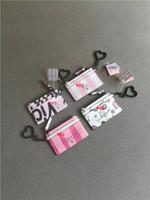 kredi kartı logoları toptan satış-Kart Sahibinin kredi kartı tutucu tasarımcı çanta VS logo deri Parodi Küçük Banka Çanta Kadın Süper Ince Çapraz İnek Pickup Set zincir çanta