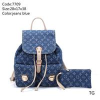 tasarımcı sırt çantaları çanta toptan satış-Pembe sugao tasarımcı sırt çantası erkekler ve kadınlar omuz çantası tuval lüks moda sırt çantası 2019 yeni stil çanta sırt çantası için yüksek kalite seyahat