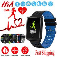 Wholesale big screen phones for for sale – best F3 smart bracelet big screen heart rate monitor bracket pressure pedometer waterproof fitness tracker sports bracelet bracelet for Android