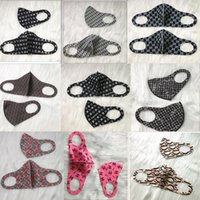 Wholesale women men outdoor sports cycling headband resale online - 2020 Designer Outdoor Bicycle Cycling Face Masks Bandanas Popular Scarf Headband Neckerchief Mouth Mask Sports Scarves Half Face Mask