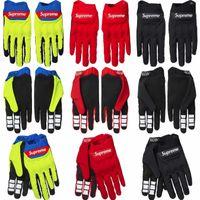 gants pour moto achat en gros de-Sup Mens Gants De Cyclisme Respirant D'été Moto Sports Gants Vélo Antidérapant Vélo Équitation Plein Doigt Longs Gants TAILLE M L XL