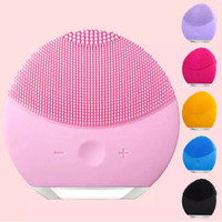 9fc1c05302 Facial Cleansing Brush Sonic Cleansing for Face Skin Cleaning Medical Level  Silicone face Electric silica gel facial washer waterproof