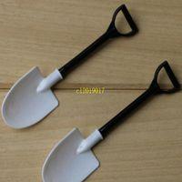 Wholesale plastic beach shovels for sale - Group buy Ice Cream Spoon Mini Shovel Plastic Spoon Cake Construction Beach Garden Party Disposable Stacks Popsicle Tools