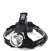 luzes de caça led venda por atacado-Faróis de alta Potência Mineiros Lâmpada T6 Carga Forte Luz Led Pesca Pesca Ao Ar Livre Caça Sonda de Liga de Alumínio Portátil Flexível 16ss1F1