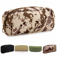 Wholesale sunglasses tool resale online - Portable Outdoor Tactical Bag Sunglasses Glasses Bag Glasses Shockproof Protection Bags Camping Hiking Travel Tactical Pouch DBC DH0836