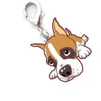 Wholesale dropship necklaces resale online - Dog Tag Newest Dog Tag Disc Disk Beagle Pet ID Enamel Accessories Collar Necklace Pendant Levert Dropship YY