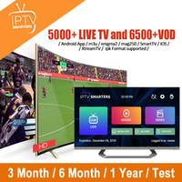 android tv ios großhandel-1/3/6/12 Monat Iptv Abonnement für Smart TV M3U Mag Box Android IOS Gerät Frankreich UK Italien USA Spanien Kanada Abonnement Iptv