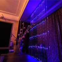 ingrosso luci fiabesche della cascata-6m * 3m 640 Led Cascata String Light Light Leds Flusso d'acqua Natale Festa di nozze Decorazione Fata String Lights impermeabile