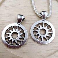 ingrosso stella di pendente di zinco-Caldo ! 45pcs argento antico in lega di zinco pendente di fascino diy accessori fai da te braccialetto di fascino europeo 18.5x22mm
