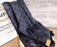 manta de marca al por mayor-Bufandas de lana de marca de diseñador Pashmina Bandas para hombres y mujeres Estilo clásico Bufandas de cachemir de diseño Mantones Mantas Bufandas