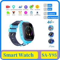 10x 4G kids smart watch IP67 warerproof smartwatch GPS wifi tracker camera video call Touch baby watch smartwatch ChildrenTelephone Watch