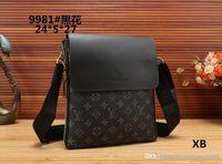 Wholesale leather shoulder pack for sale - Group buy Leather Messenger Bags Men Travel Business Crossbody Shoulder Bag for Man Sacoche Homme Bolsa Masculina
