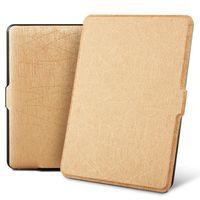 estuches para kindle paperwhite al por mayor-Funda para funda Kindle Paperwhite 1 2 3 6 '' Carcasa Super Slim Auto despertador / reposo Funda de PU inteligente para Kindle Paperwhite