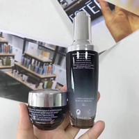 botella de ojo negro al por mayor-Famosa marca Botellas negras 15ml crema para los ojos + 50ml crema facial Avances para líneas Activación del cuidado de la piel Set envío gratis