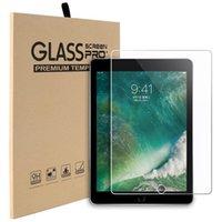 antideslumbrante para ipad al por mayor-Para iPad Air 9.7 Protector de pantalla de cristal templado para el nuevo iPad Pro 11 12.9 2018 10.5 2019 mini 4 Samsung Tab A2 T595