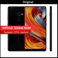 xiaomi teléfono gps al por mayor-Versión global Original Xiaomi Mi MIX 6.4 pulgadas Pantalla completa Snapdragon 821 6GB RAM 256GB ROM 2040x1080P Teléfono VS xiaomi mi mix 2